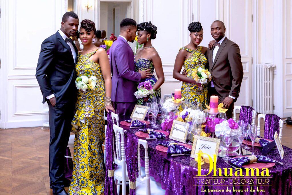 infos sur robe pagne africaine pour le mariage coutumier arts et voyages. Black Bedroom Furniture Sets. Home Design Ideas