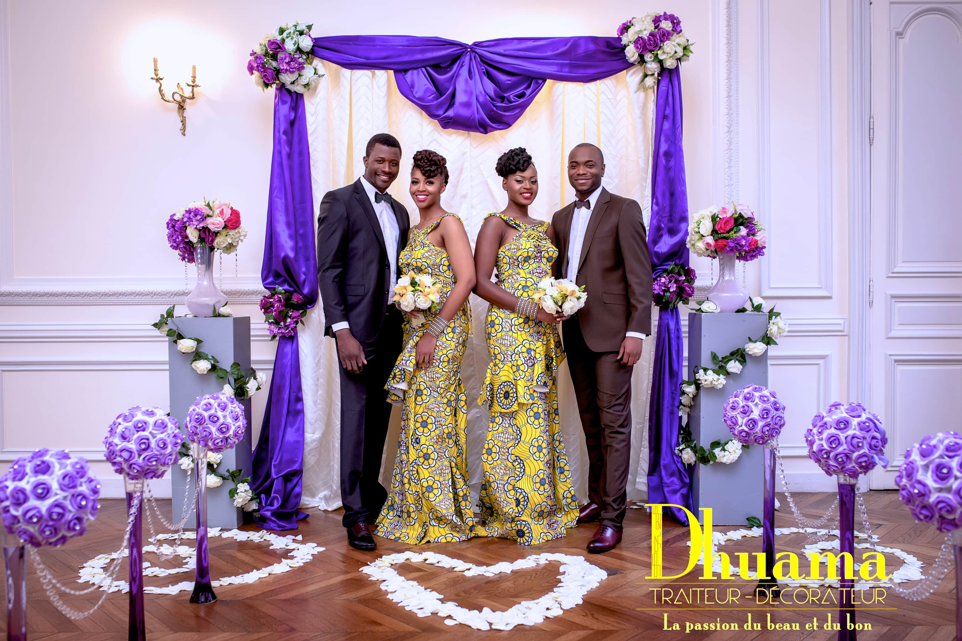 Shooting Afro Wedding