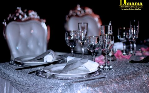 Mariage thème diamant
