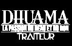 Logo dhuama 2021 : blanc